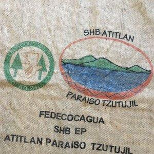 Makoha - Sac en toile de jute café Paraiso Tzutujil