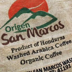 Sac toile de jute café San Marcos