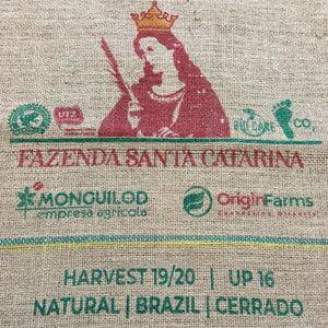 Sac toile de jute café Fazenda Santa Catarina