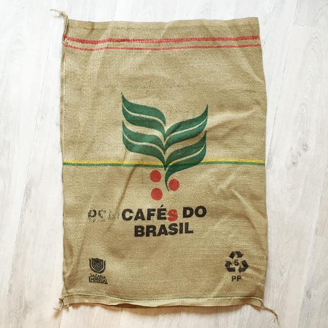 Makoha - sac en toile de jute café Sitio Cambuta - arrière