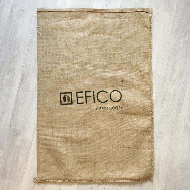 Makoha - sac de café en toile de jute Swiss Water - aarrière