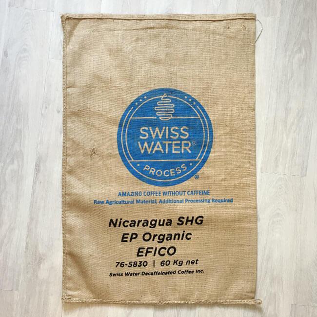 Makoha - sac de café en toile de jute Swiss Water - avant