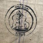 Makoha - sac en toile de jute café Titus