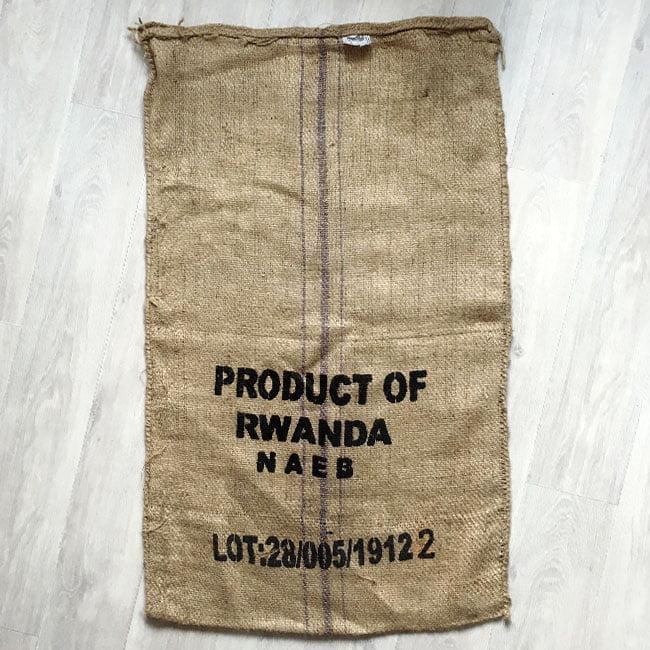 Makoha - sac en toile de jute café Titus - arrière
