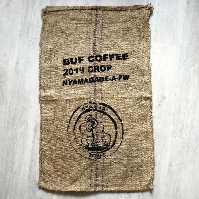 Makoha - sac en toile de jute café Titus - avant