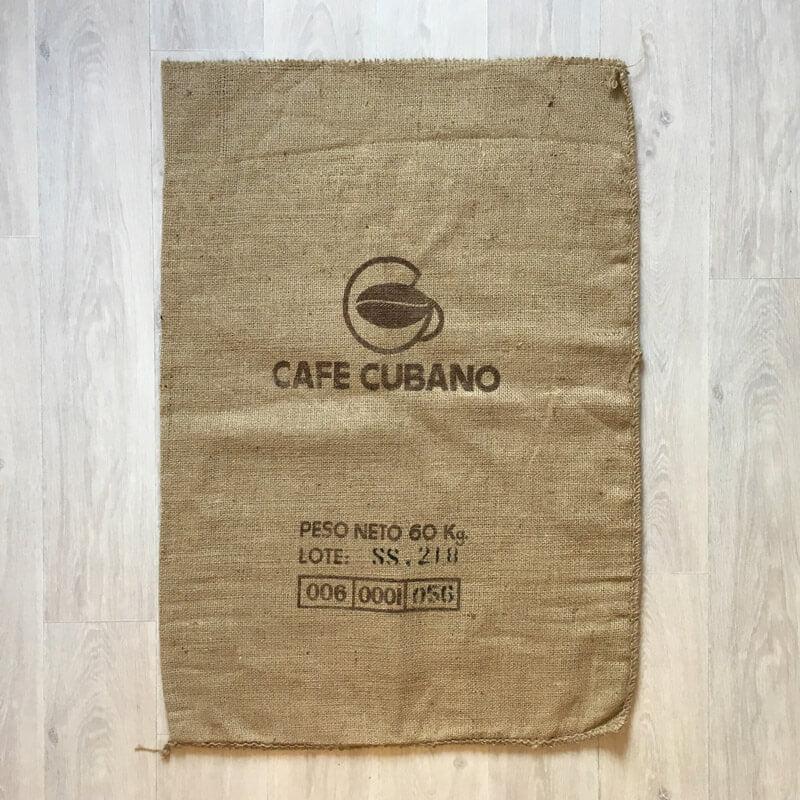 Makoha - sac en toile de jute Café Cubano - avant